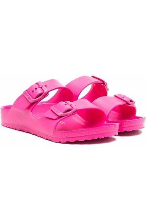 Birkenstock Kids Arizona double-strap sandals