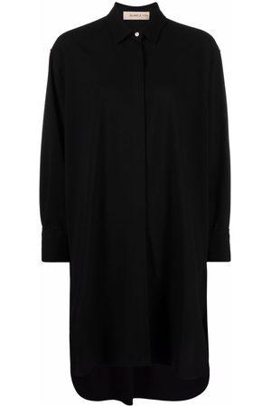 Blanca Vita Cedronella long-sleeved shirtdress