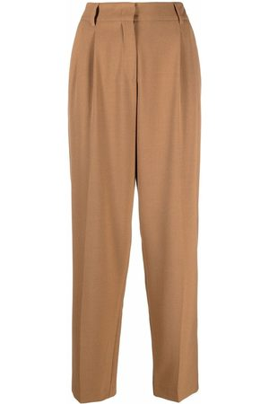 BLANCA Passiflora tailored trousers - Neutrals