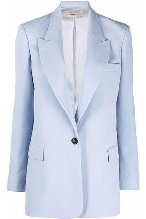 Blanca Vita Single-breasted tailored blazer