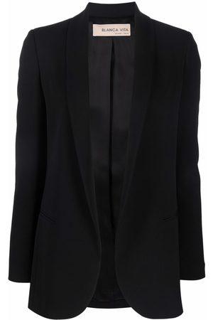 Blanca Vita Shawl-lapel long-sleeve blazer
