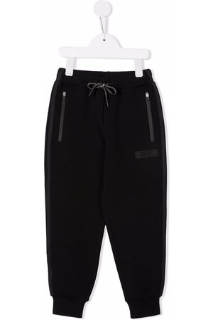 Il gufo Sweatpants - Zip-pocket slim joggers