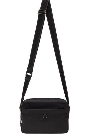 Boss Men Luggage - Black Trucker Messenger Bag