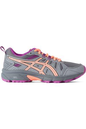 Asics Sneakers - Kids Grey & Pink Gel-Venture 7 GS Sneakers