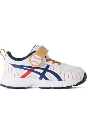 Asics Baby White Contend 6 TS School Yard Sneakers