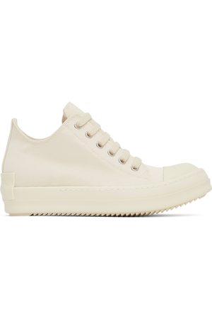 Rick Owens Drkshdw Women Sneakers - Off-White Cardboard Low Sneakers