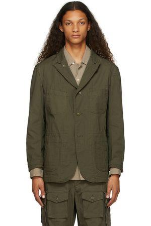 Engineered Garments Khaki Ripstop Bedford Jacket