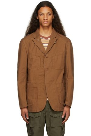 Engineered Garments Men Blazers - Brown Duck Canvas Jacket