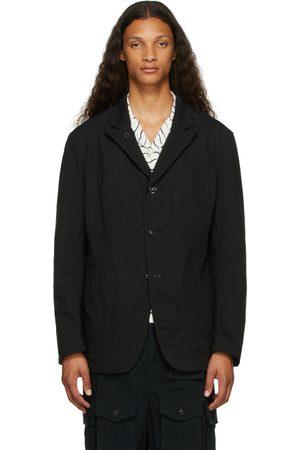 Engineered Garments Men Blazers - Black Ripstop Bedford Jacket