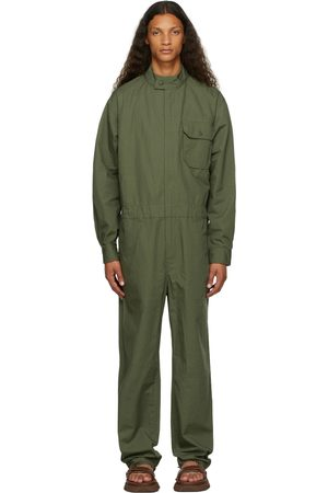 Engineered Garments Men Jumpsuits - Khaki Ripstop Racing Jumpsuit