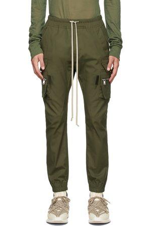 Rick Owens Green Mastodon Cargo Pants