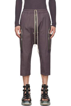 Rick Owens Purple Bauhaus Bela Cargo Pants