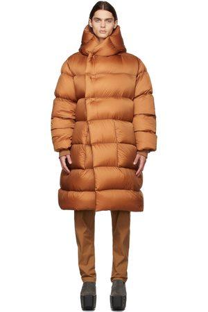 Rick Owens Orange Down Liner Coat