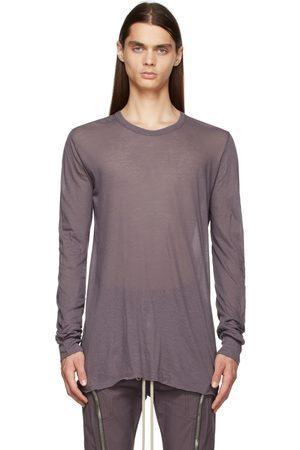 Rick Owens Purple Basic Long Sleeve T-Shirt
