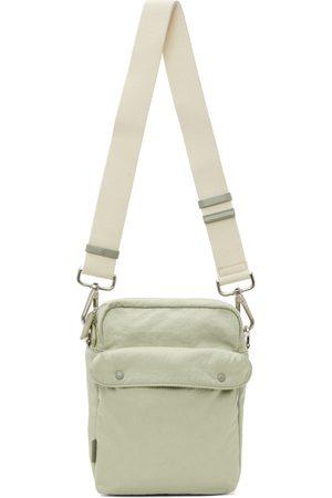 Jil Sander Green Pocket Messenger Bag
