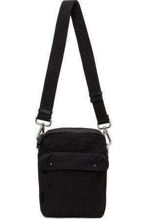 Jil Sander Men Luggage - Black Pocket Messenger Bag