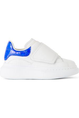 Alexander McQueen Sneakers - Kids White Oversized Sneakers