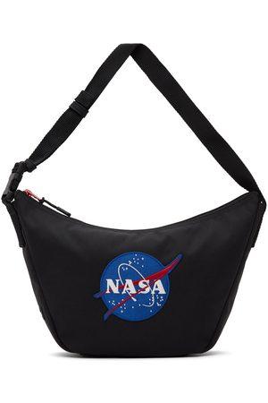 Balenciaga Men Luggage - Black Space Sling Bag
