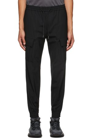 Juun.J Black Wool Jogger Cargo Pants