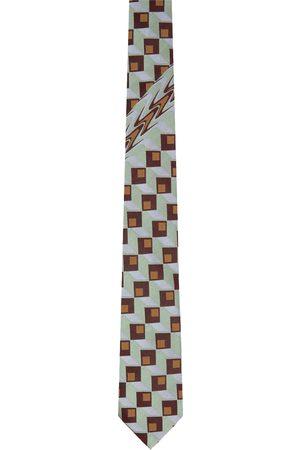 Dries Van Noten Multicolor Silk Tie