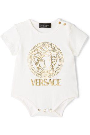 VERSACE Baby White Medusa Bodysuit