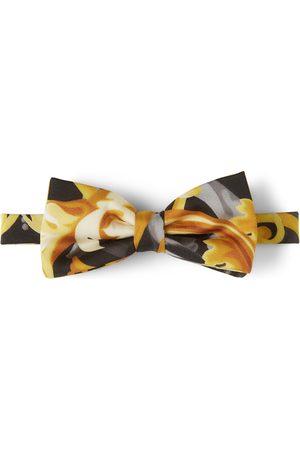 Versace Kids Black Baroccoflage Bow Tie