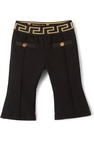 Versace Baby Black Milano Trousers