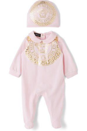 Versace Bodysuits & All-In-Ones - Baby Pink Medusa Bodysuit Set