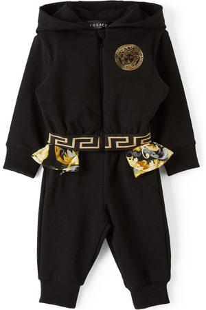 Versace Tracksuits - Baby Black Baroccoflage Medusa Track Suit