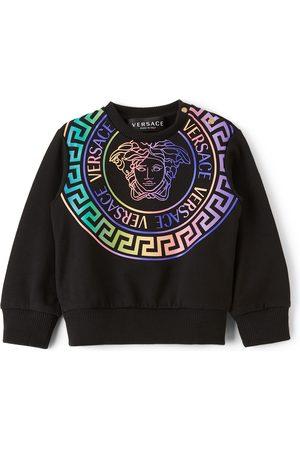 Versace Baby Black Medusa Print Sweatshirt