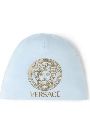 Versace Baby Blue Medusa Beanie
