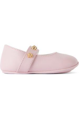 Versace Accessories - Baby Pink Lambskin Pre-Walkers