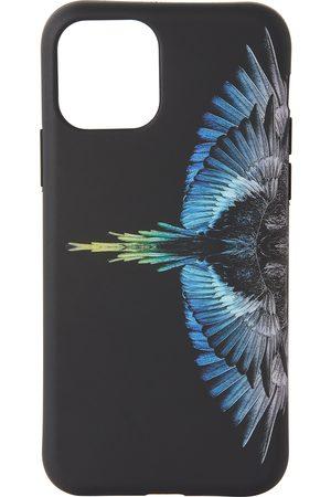 MARCELO BURLON Phones Cases - Black & Blue Wings iPhone 11 Pro Case