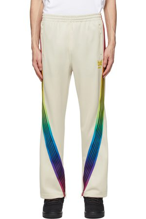 Needles Men Sweatpants - Off-White AWGE Edition Rainbow Track Pants