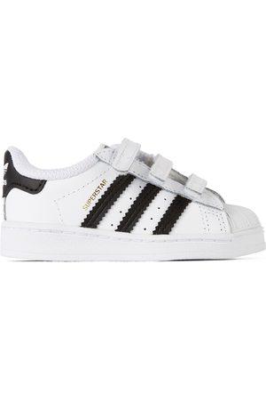 adidas Sneakers - Baby White Superstar Sneakers