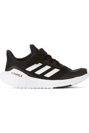 adidas Kids Sneakers - Kids Black & White EQ21 Run Sneakers