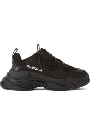Balenciaga Sneakers - Kids Black Triple S Sneakers