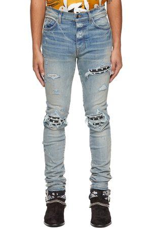 AMIRI Men Jeans - Blue Playboy Edition MX1 Jeans