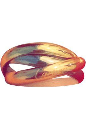 Cartier Women Rings - Trinity yellow gold ring