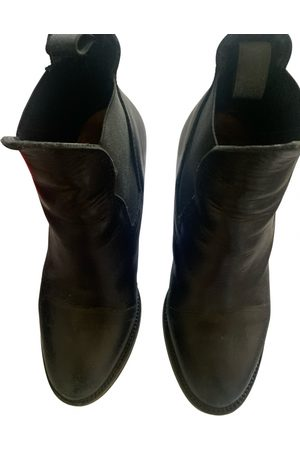 Acne Studios Star leather western boots