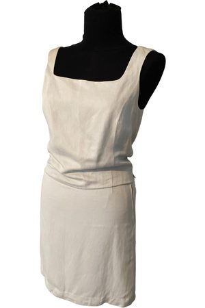 Calvin Klein Linen skirt suit