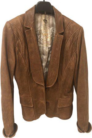 GUESS Leather short vest