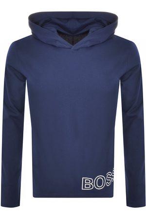 HUGO BOSS BOSS Long Sleeved Hooded T Shirt