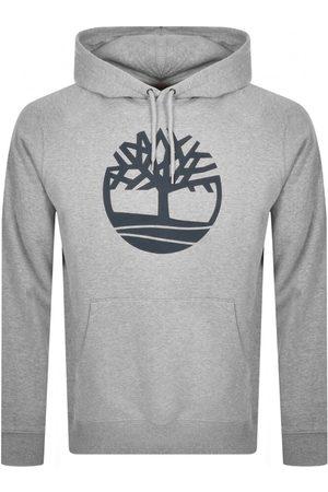 Timberland Core Logo Hoodie Grey