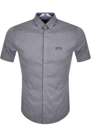 HUGO BOSS BOSS Biada R Short Sleeved Shirt Navy