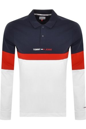 Tommy Hilfiger Long Sleeve Polo T Shirt Navy