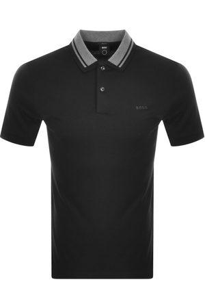 HUGO BOSS BOSS Phillipson 95 Short Sleeved Polo T Shirt Blac
