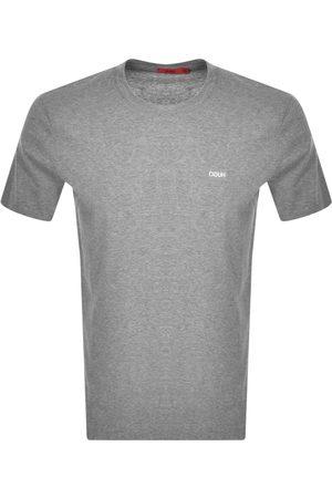 HUGO BOSS Dero 212 Crew Neck Short Sleeve T Shirt Grey