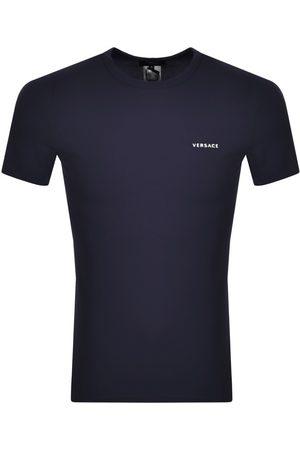 VERSACE Men Short Sleeve - Versace Short Sleeve T Shirt Navy