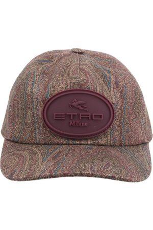 Etro Appliqué Logo Paisley-Print Cap